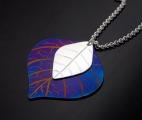 Löv-silver-titan
